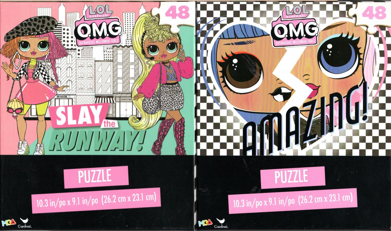 L.O.L. Surprise! O.M.G. Outrageous Millennial Girls - 48 Jigsaw Puzzle (Set of 2)