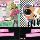 L.O.L. Surprise! O.M.G. Outrageous Millennial Girls - 48 Jigsaw Puzzle (Set of 2)