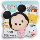 Disney Tsum Tsum Sticker Pad - 8x8 Inches; 300 Stickers