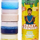 Guava Toys Pre Made Crazy Carnival Scented Slime | 4 Pack | Pre Made Slime