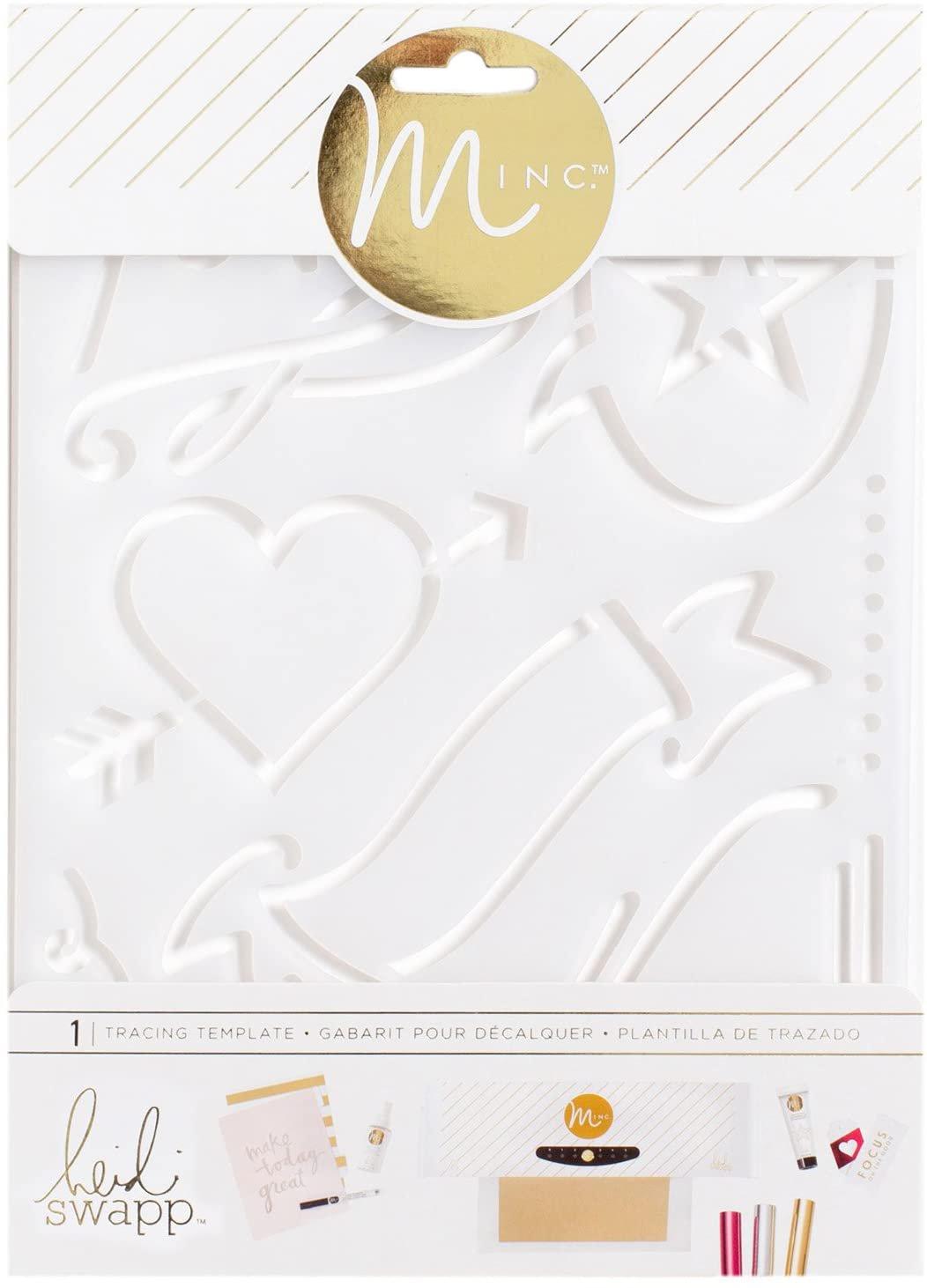 American Crafts Heidi Swapp Minc Tracing Template Love
