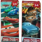 Disney Cars 2 24 Pc Tower Puzzle 2 Assorted. by DDI