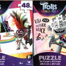 Trolls - 48 Pieces Jigsaw Puzzle (Set of 2)