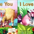The Storybook Series - I Love You and I Love Family - Children's Book (Set of 2 Books)