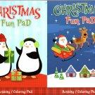 Kappa Books Christmas Play Pad - Coloring & Activity - (Set of 2)