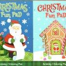 Kappa Books Christmas Play Pad - Coloring & Activity - (Set of 2) v4