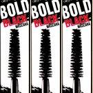 Hard Candy Bold Black Colored Mascara, 1347 Jet Black (Set of 3)
