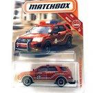 Matchbox 16 Ford Interceptor Utility Red/Orange 42/100 MBX Rescue 1/120