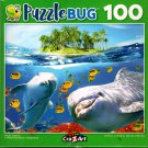Playful Dolphins - 100 Piece Jigsaw Puzzle