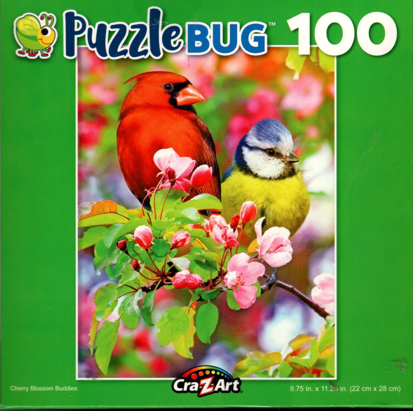 Cherry Blossom Buddies - 100 Piece Jigsaw Puzzle