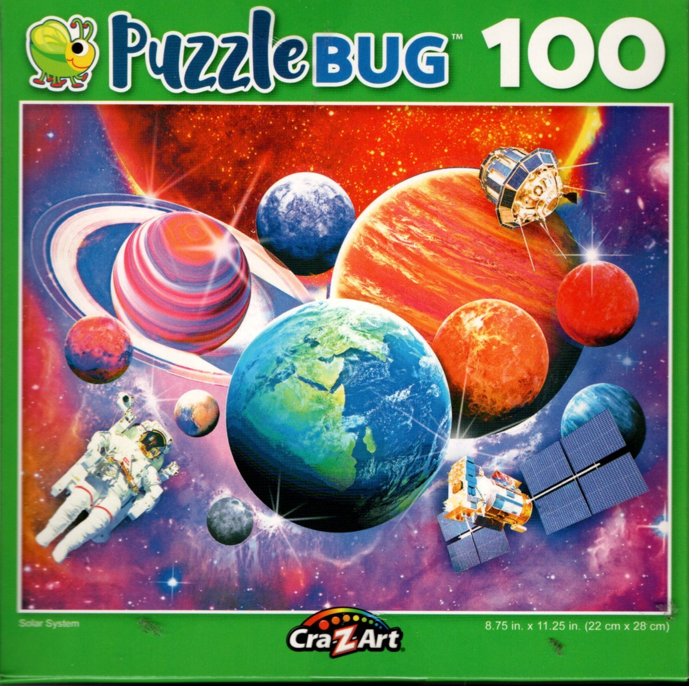 Solar System - 100 Piece Jigsaw Puzzle
