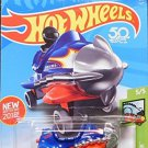 Hot Wheels 2018 Hw Fun Park 5/5 - Bazoomka (Blue)