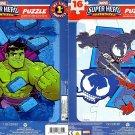 Marvel Super Hero Adventures - 16 Pieces Jigsaw Puzzle - (Set of 2 Puzzles) v5