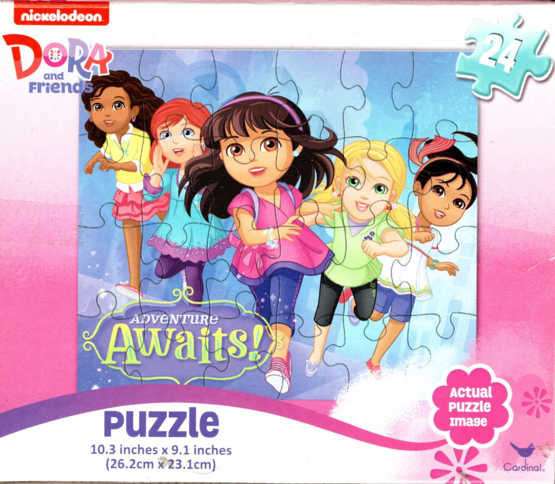 Dora and Friends - 24 Pieces Jigsaw Puzzle - v6