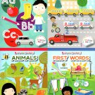 Stick-to Learning - First to Words, Animals, Numbers, Letters - Sticker Book