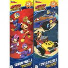 Disney Mickey & The Roadster Racers - 24 Piece Tower Jigsaw Puzzle (Set of 2 Puzzle)