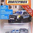 Matchbox '17 Ford F-350 Skyjacker Super Duty Police Truck 50/100 MBX Rescue 19/2