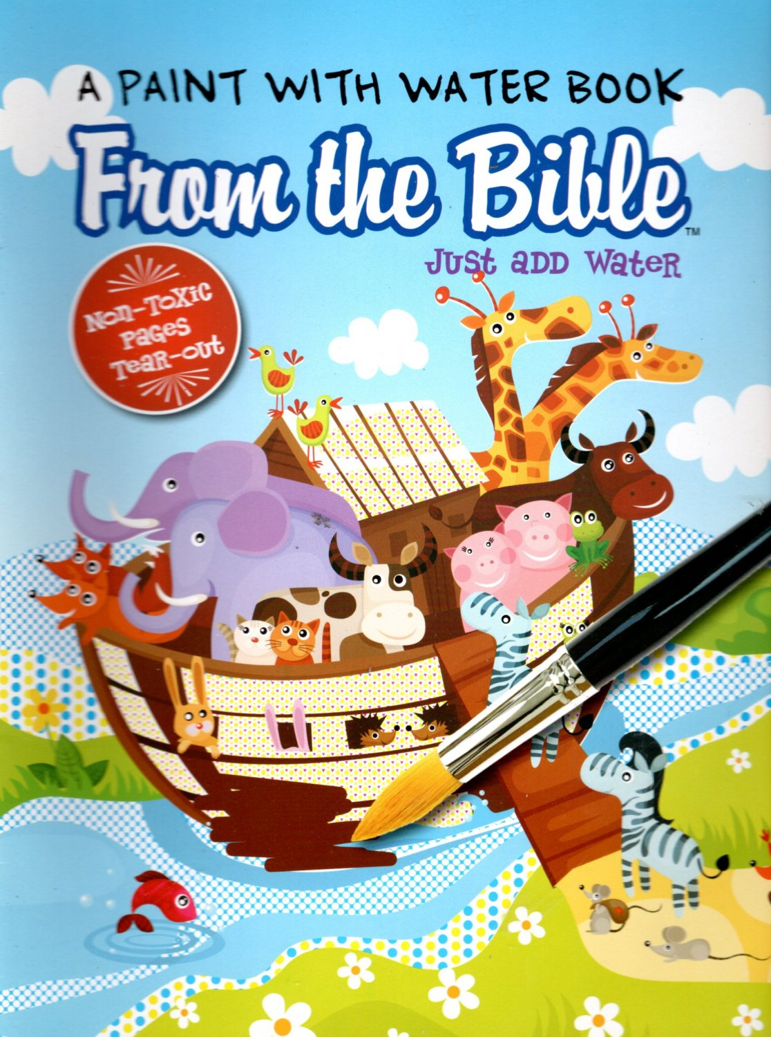 A Paint with Water - Book from the Bible - Just Add Water - Coloring Book