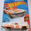 Hot Wheels 2020 Hw Flames '57 Plymouth Fury, White 168/250