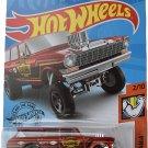 Hot Wheels '64 Nova Wagon Gasser 174/250, red