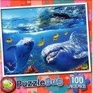 Playful Dolphins - PuzzleBug - 100 Piece Jigsaw Puzzle