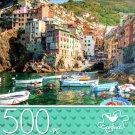 Riomaggiore, Liguria, Italy - 500 Piece Jigsaw Puzzle