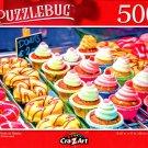 Cra-Z-Art Sweet Treats - Sweet Treats on Display - 500 Piece Jigsaw Puzzle