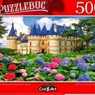 Fairytale Chaumont - sur - Loire Castle, France - 500 Pieces Jigsaw Puzzle