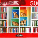 Library Kittens - 500 Pieces Jigsaw Puzzle