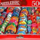 Colorful Mexican Souvenirs - 500 Pieces Jigsaw Puzzle