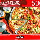 Sliced Fresh Baked Supreme Pizza - 500 Pieces Jigsaw Puzzle