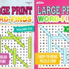 Large Print - Word-Finds - Easy to Read Puzzle Fun - Vol.314-315 (Set of 2 Books)