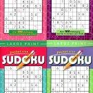 Large Print Pocket Size Sudoku Puzzles - Vol.25 - 28