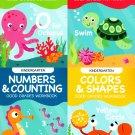 Educational Workbooks Kindergarten - Set of 4 Books - v12