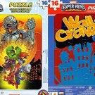 Marvel Super Hero Adventures - 16 Pieces Jigsaw Puzzle - (Set of 2 Puzzles) v4