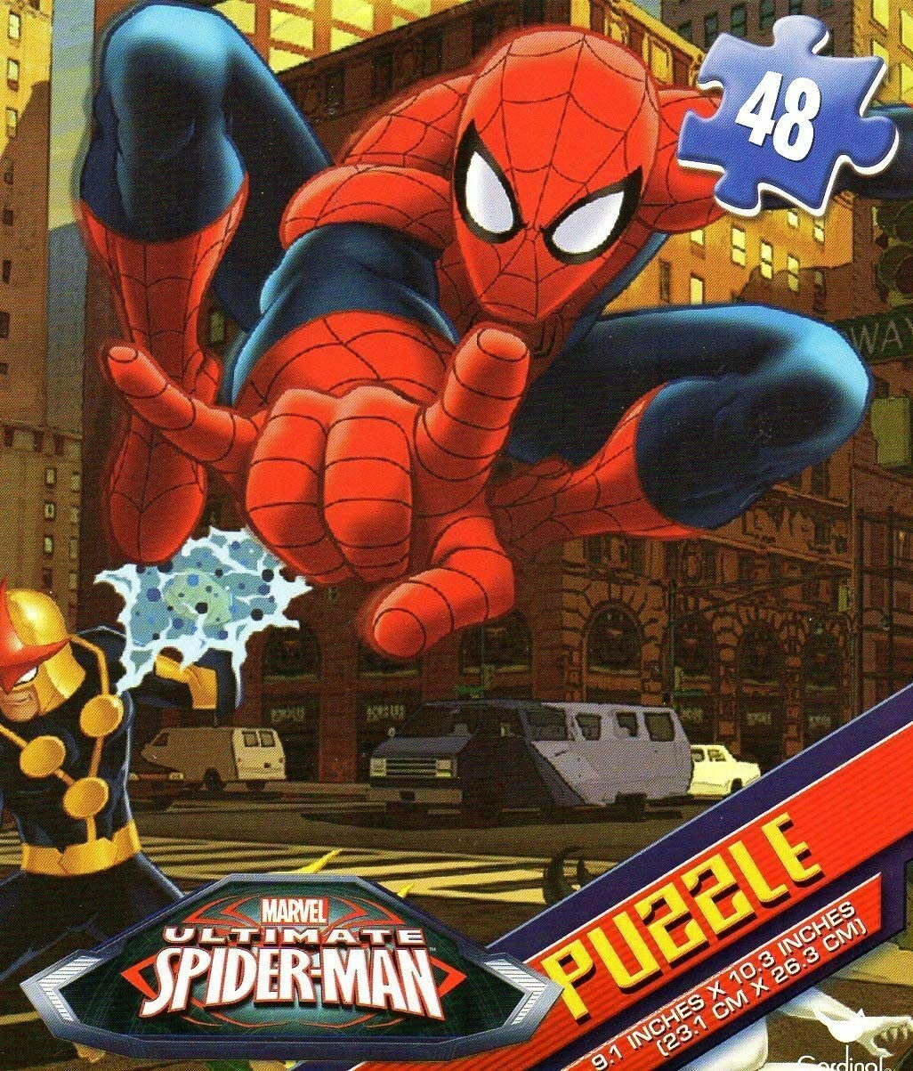 Marvel Ultimate Spider-Man - 48 Pieces Jigsaw Puzzle - v5