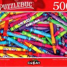 Colorful Crayons - 500 Pieces Jigsaw Puzzle