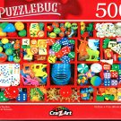 Vintage Toy Box - 500 Pieces Jigsaw Puzzle