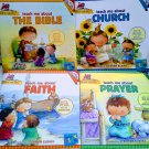 Wonder Kids Train Em Up: Prayer Book & CD Sing-Along, Set of 4