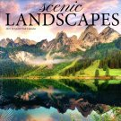 Scenic Landscapes - 2021 16 Month Wall Calendar - Durable Paper