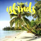 Tropical Islands - 2021 16 Month Wall Calendar - Durable Paper