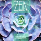 Zen a Year of Inspiration - 2021 16 Month Wall Calendar - Durable Paper