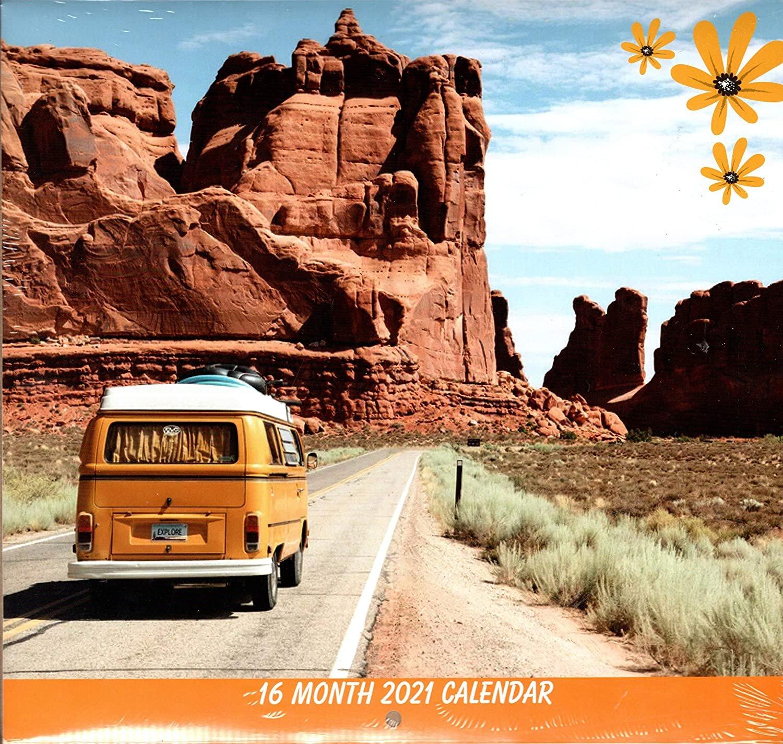 Landscapes - 2021 12 Month Wall Calendar