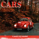 Cars - 2021 16 Month Wall Calendar