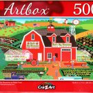 Bud's Big Blossoms - 500 Piece Jigsaw Puzzle