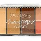 Broadway Colors (1) Contour Artist Cream - Cream Contour Kit - BCK02 Medium/Dark
