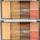 Broadway Colors (1) Contour Artist Cream - Cream Contour Kit - BCK02 Medium/Dark Set of 2