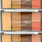 Broadway Colors (1) Contour Artist Cream - Cream Contour Kit - BCK02 Medium/Dark Set of 3
