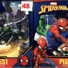 Marvel Spider-Man - 48 Pieces Jigsaw Puzzle (Set of 2)