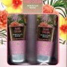 Hibiscus + Rose Hand Cream 2 Pack Set Moisturize 2 x 1fl oz. (30ml)